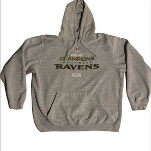 2012 AFC Ravens championship Hoodie